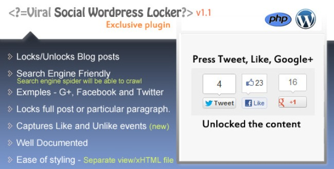 Viral Wordpress Locker