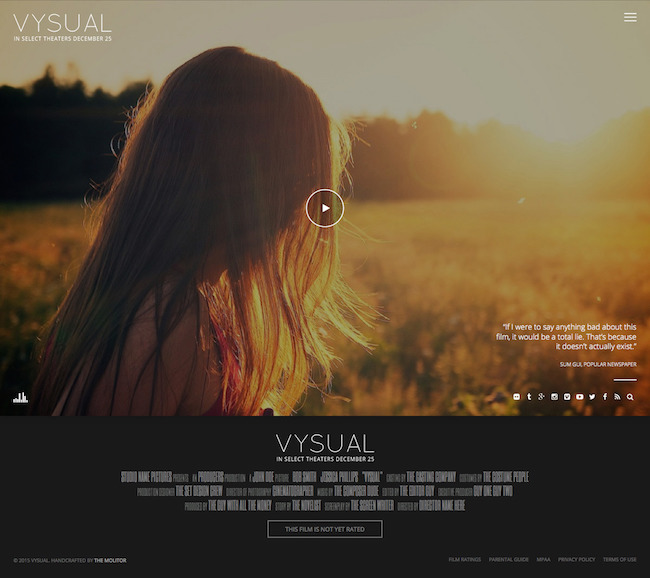 Vysual Theme for WordPress