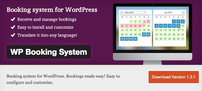 WP Booking System
