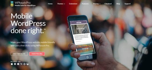 WPtouch WordPress Plugin