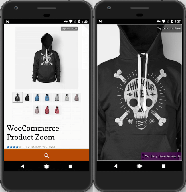 WooCommerce Product Zoom
