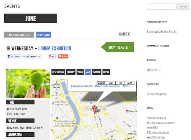 Wp Event Calendar Plugin