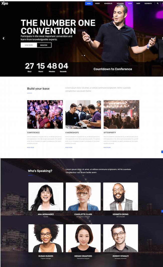 Xpo Event WordPress Theme