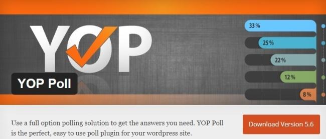 YOP Poll Plugin logo