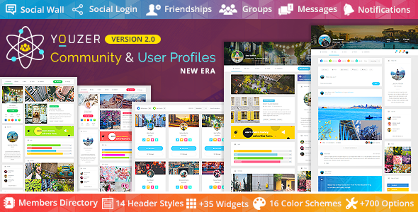 Youzer WordPress Plugin