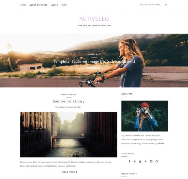 activello-free-blog-wordpress-theme