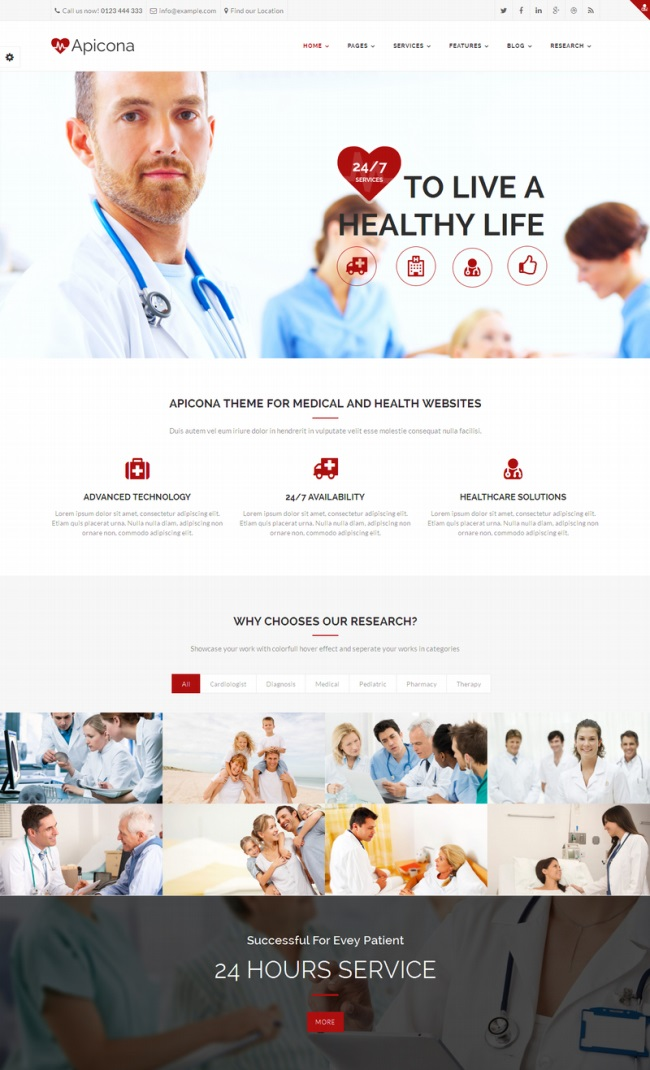 apicona-health-medical-wordpress-theme