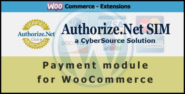 Authorize.Net SIM Payment Module for WooCommerce
