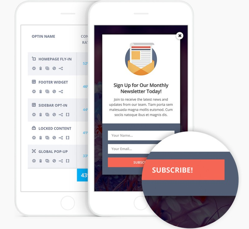 bloom responsive design and mobile optimization