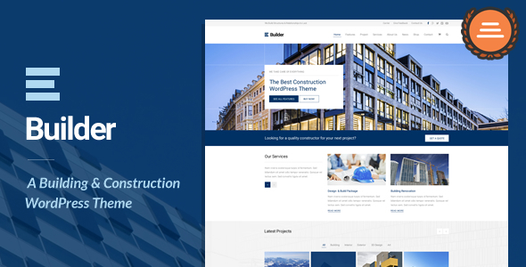 Industrial Builder WordPress Theme