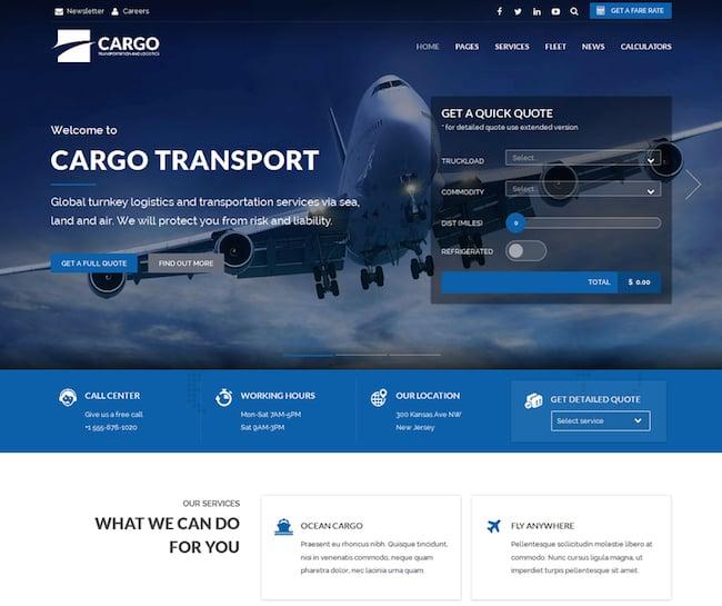 cargo-transport-logistics-theme