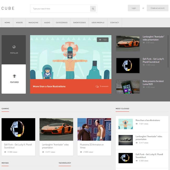 cube-wordpress-theme
