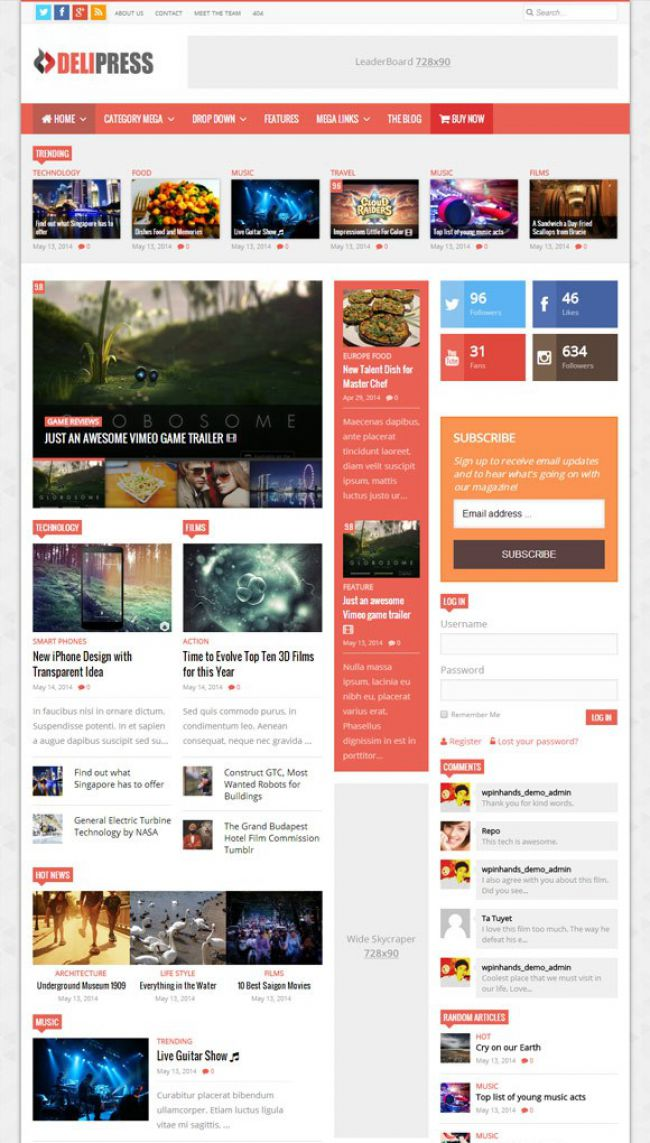 delipress-magazine-and-review-wordpress-theme
