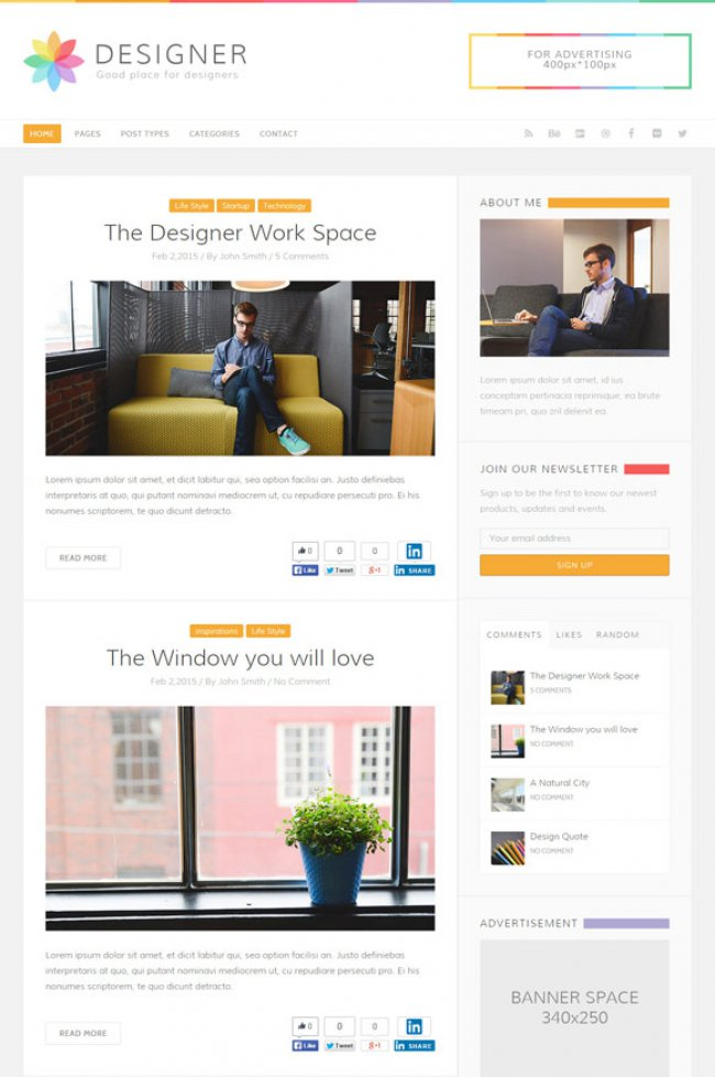 designer-blog-wordpress-theme