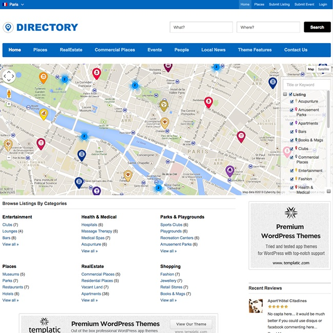 directory-templatic-wordpress-theme