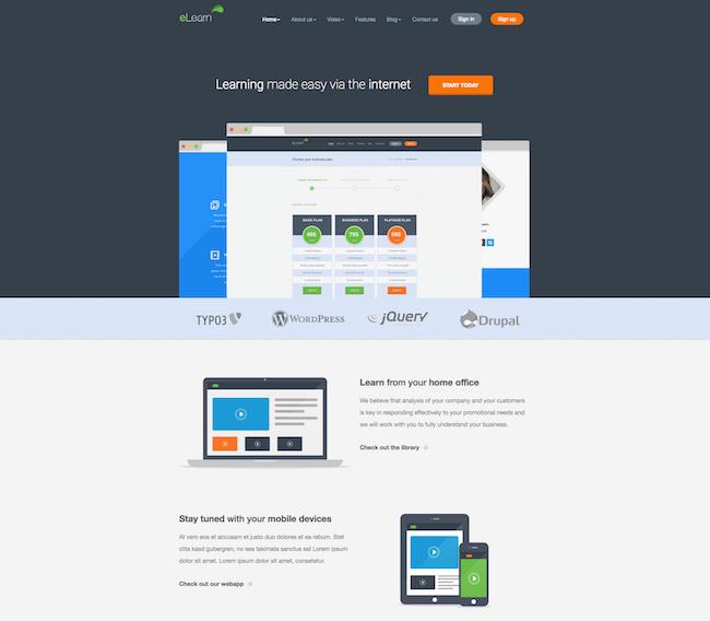 eLearn WordPress Theme