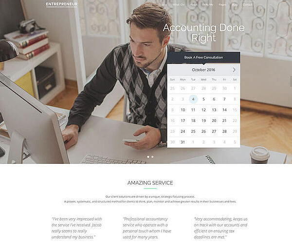 Entrepreneur Business Theme for WP