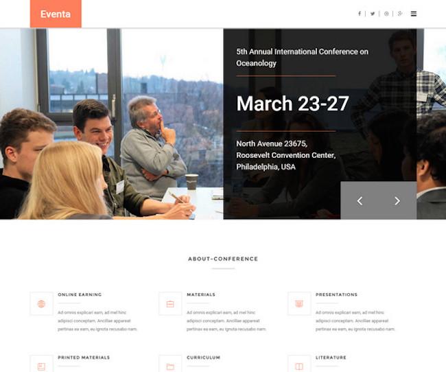 eventa WordPress Theme