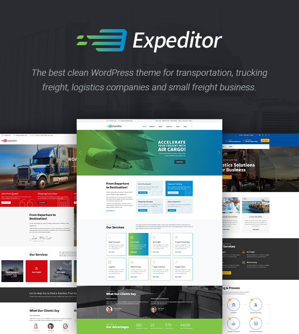 Expeditor WordPress Theme