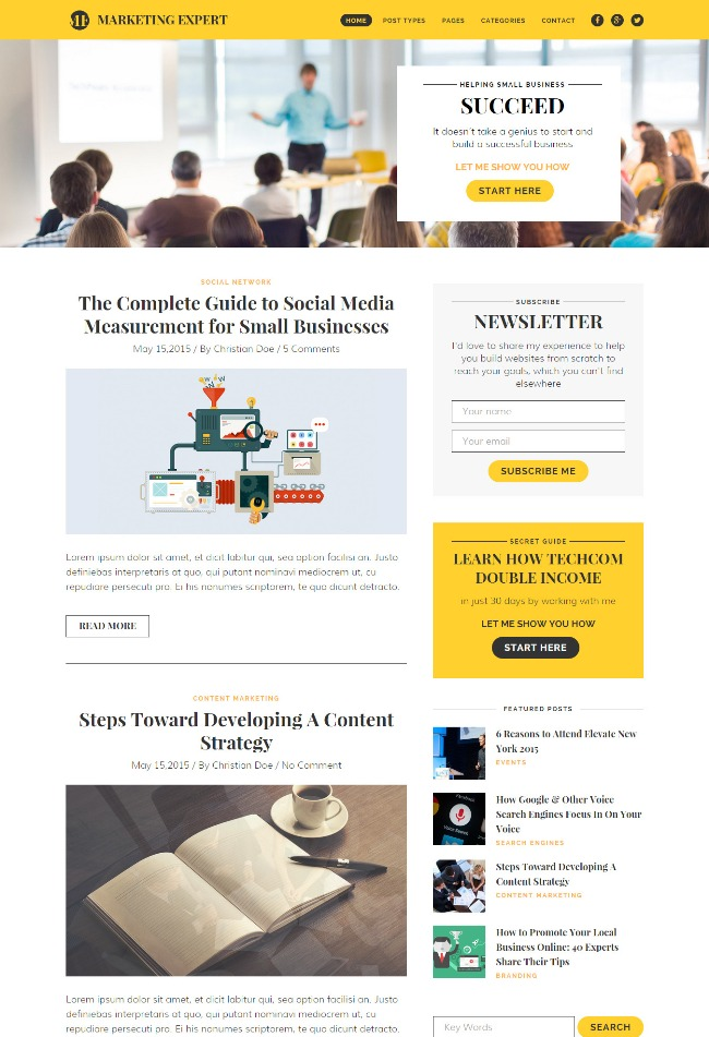 expert-blog-wordpress-theme-for-marketer
