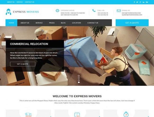 express-movers-wordpress-theme