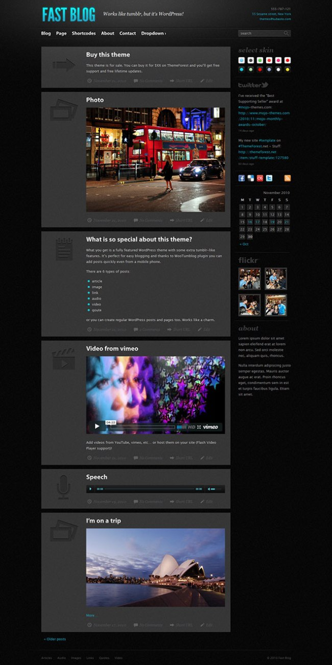 fast-blog-theme