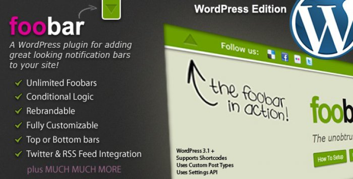 foobar wordpress plugin