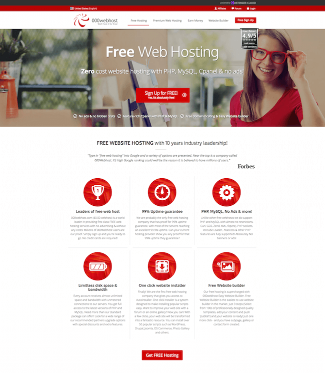 000webhost Free Web Host