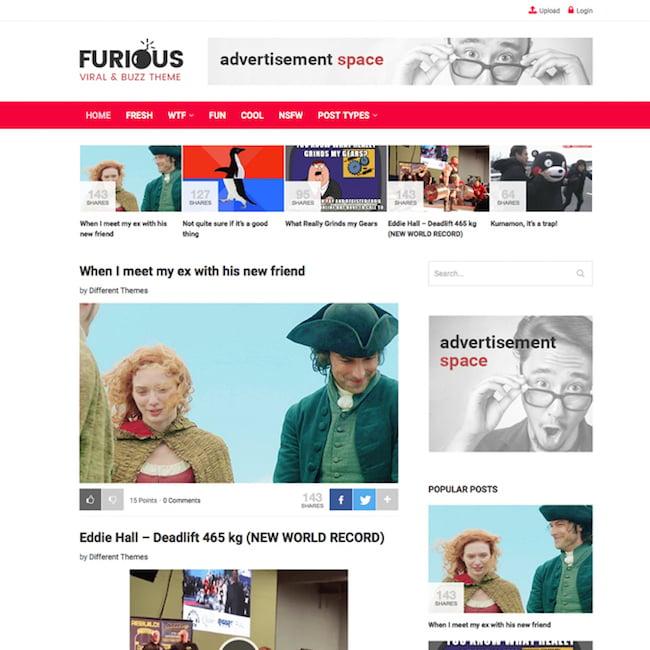 furious-blog-wordpress-theme