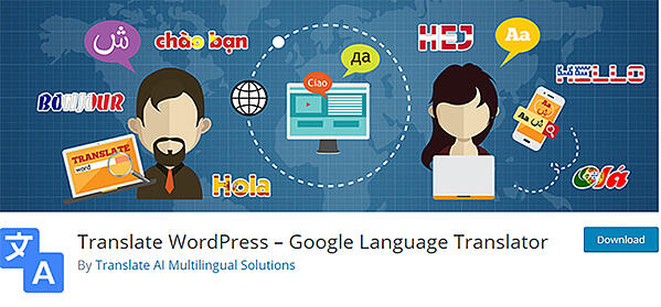 google language translator plugin for wordpress