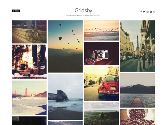 gridsby theme