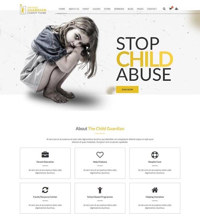 guardian-charity-wordpress-theme