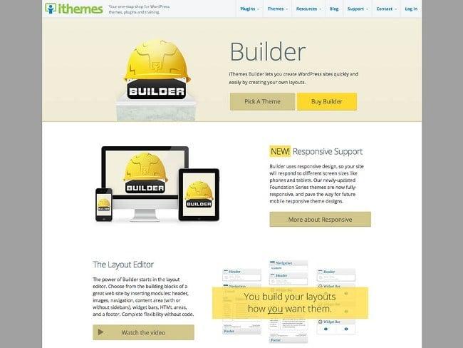 iThemes Builder WordPress Theme Framework