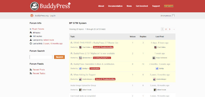 BuddyPress-project-management-wordpress-plugin