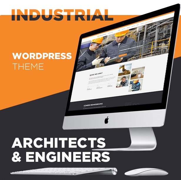 Industrial – Architects & Engineers WordPress Theme