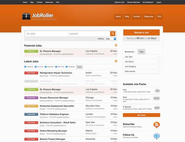 jobroller-wordpress-job-board