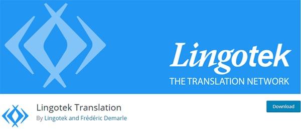 lingotek translation plugin