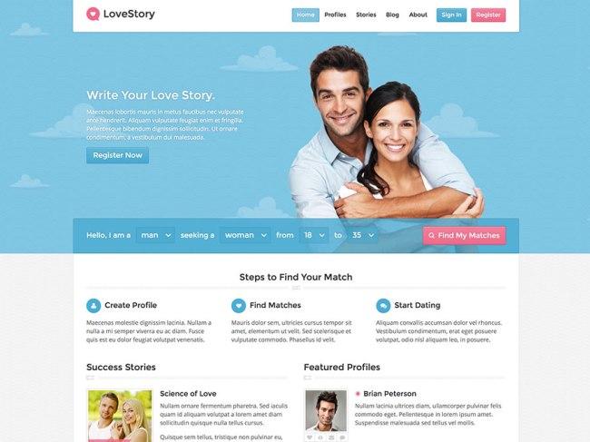 lovestory-dating-wordpress-theme