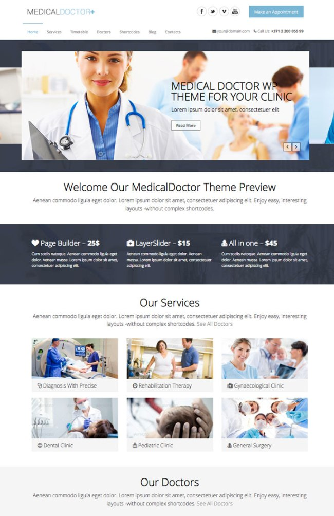 medicaldoctor Theme