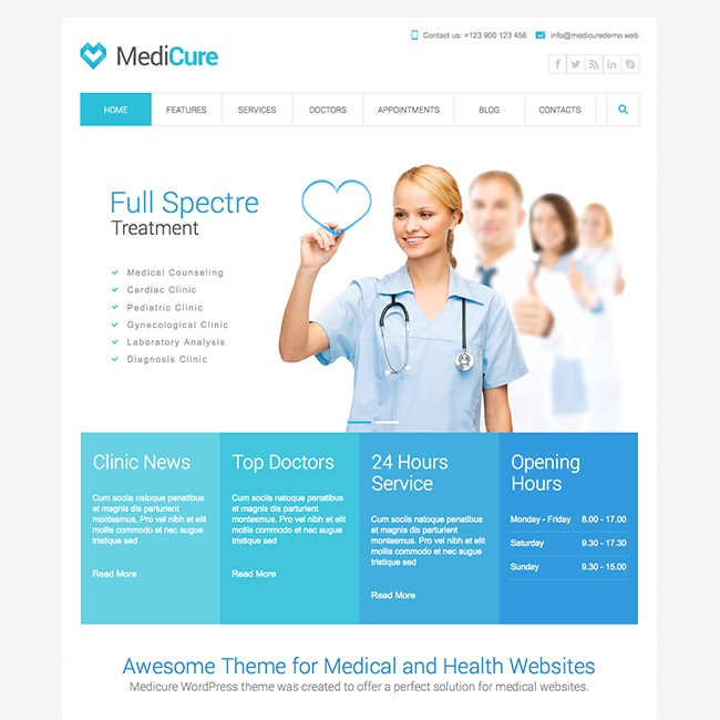 medicure-medical-wordpress-theme