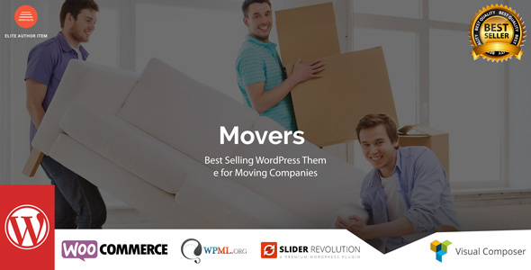 Movers, wp theme