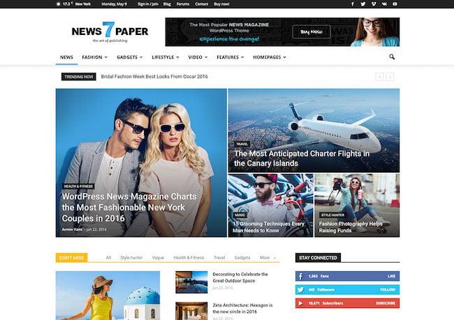 newspaper-popular-magazine-wordpress-theme