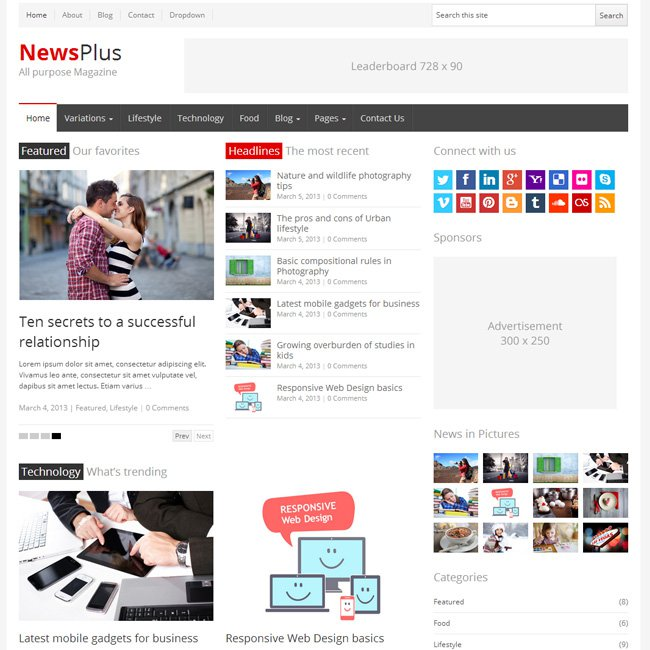 newsplus-wordpress-theme