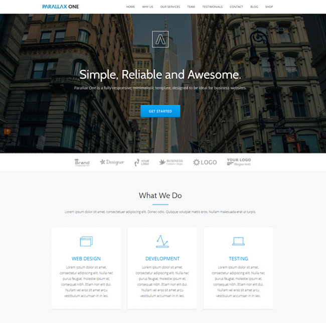 20 Best One Page Wordpress Themes For 2019