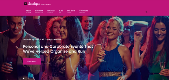 party planner wp theme, event planner themes
