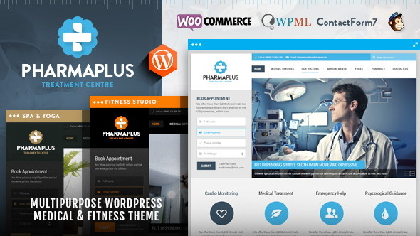 PharmaPlus WordPress Theme