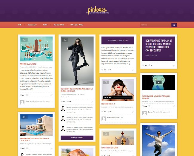 pintores-wordpress-theme