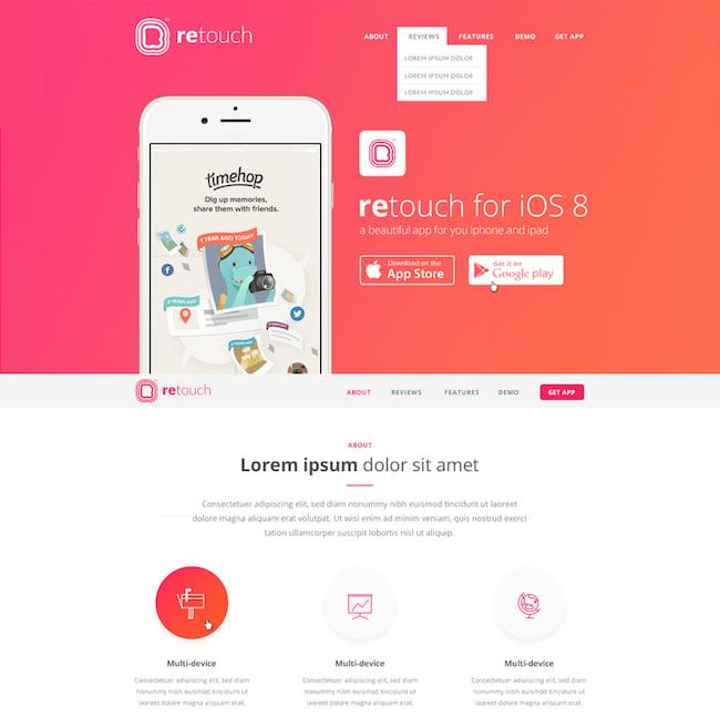 retouch-app-wordpress-theme