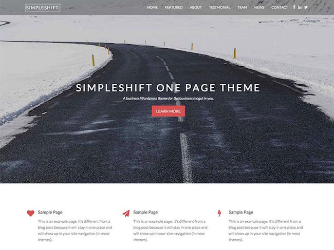 simpleshift SEO theme