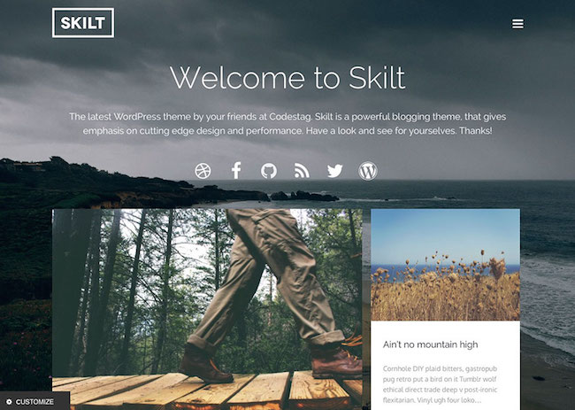 skilt-wordpress-blog-theme